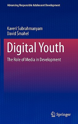 Digital Youth By Subrahmanyam, Kaveri/ Smahel, David
